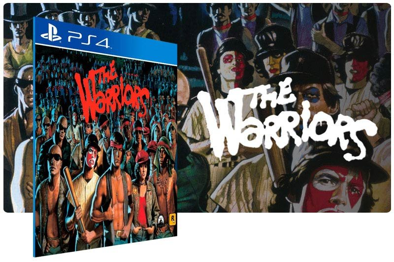 Banner do game The Warriors para PS4