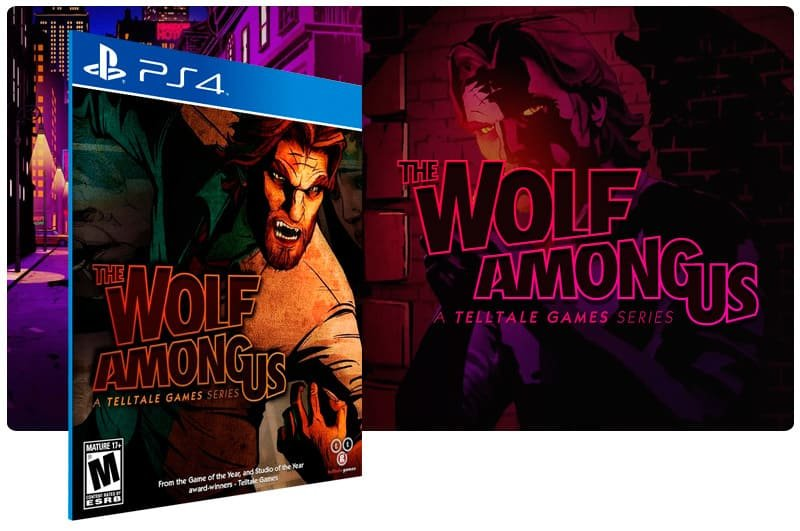 Banner do game The Wolf Among Us para PS4