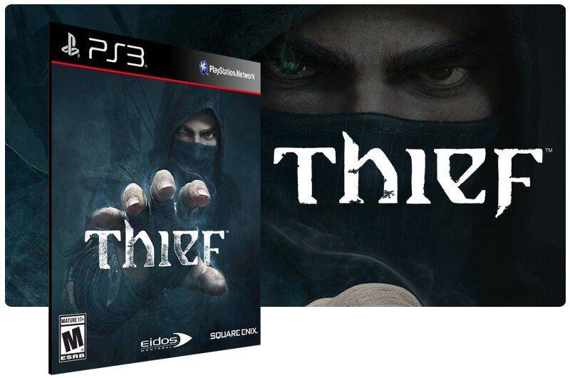 Banner do game Thief para PS3
