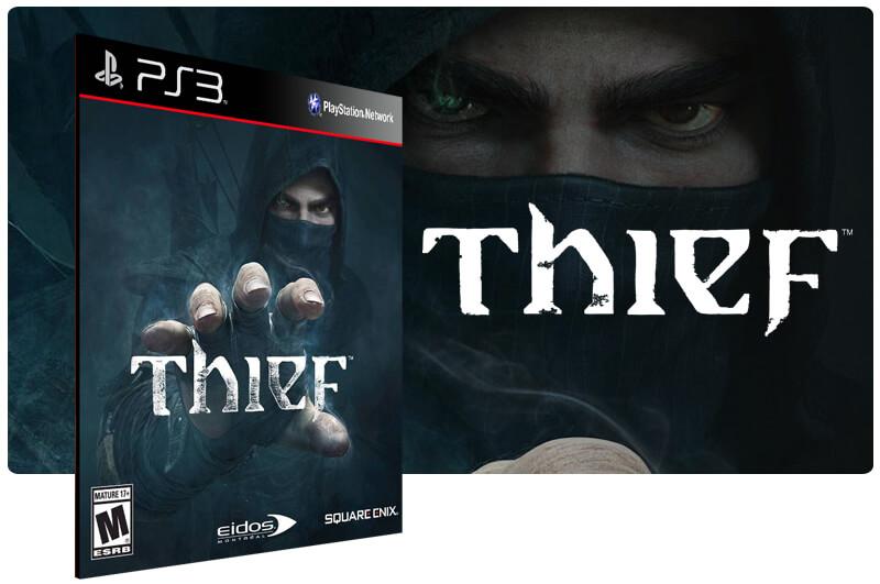 Banner do game Thief para PS3