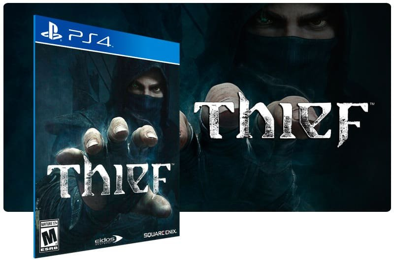Banner do game Thief para PS4