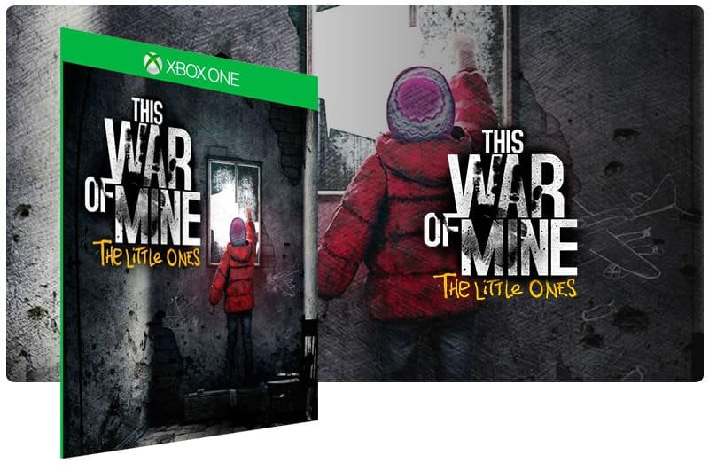 Banner do game This War of Mine: The Little Ones em mídia digital para Xbox One