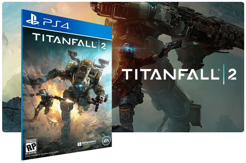 Banner do game Titanfall 2 Standard Edition para PS4