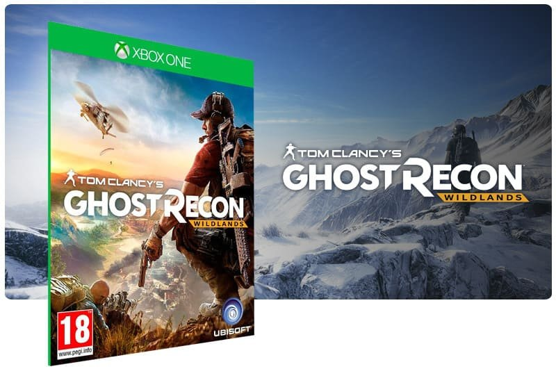 Banner do game Tom Clancy Ghost Recon: Wildlands Standard Edition em mídia digital para Xbox One
