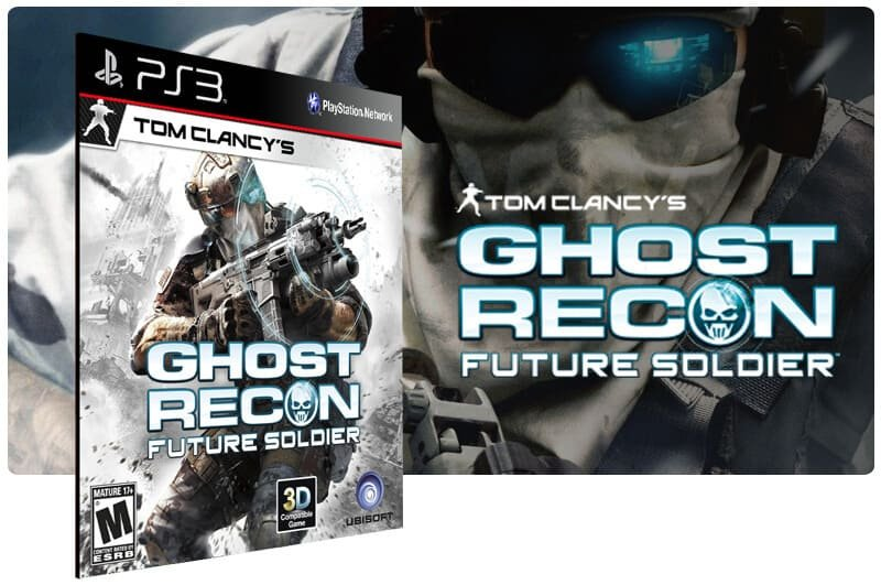 Banner do game Tom Clancys Ghost Recon: Future Soldier para PS3
