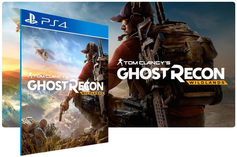 Banner do game Tom Clancy's Ghost Recon Wildlands Standard Edition para PS4