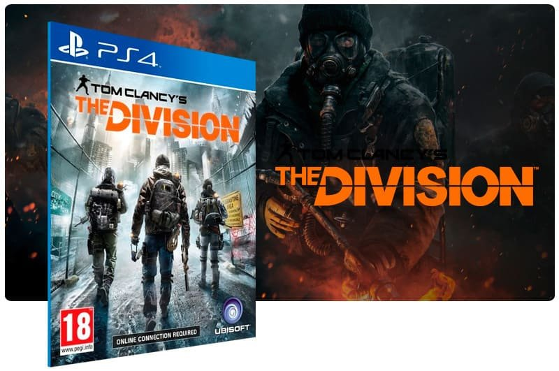 Banner do game Tom Clancy's The Division para PS4