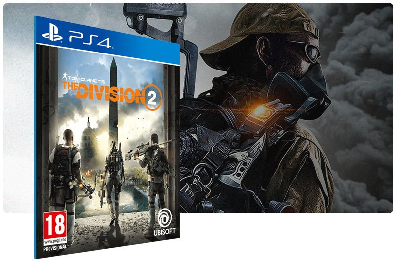 Banner do game Tom Clancy's The Division 2 Standard Edition para PS4