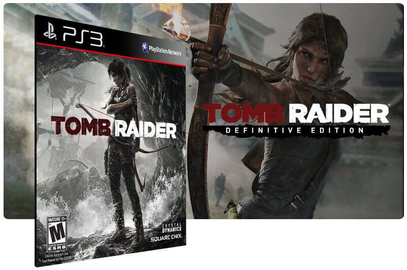 Banner do game Tomb Raider Digital Edition para PS3