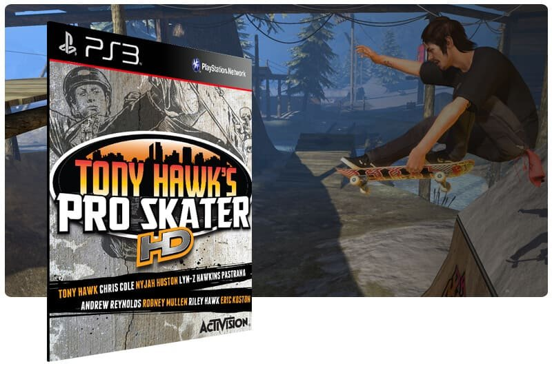 Banner do game Tony Hawks Pro Skater HD para PS3