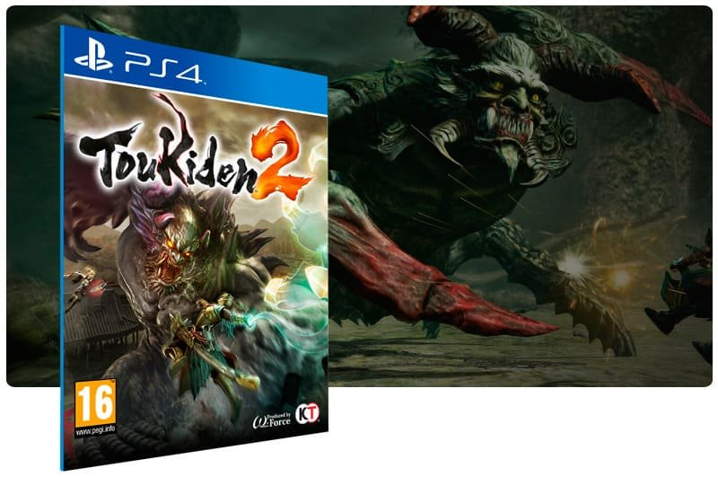 Banner do game Toukiden 2 para PS4