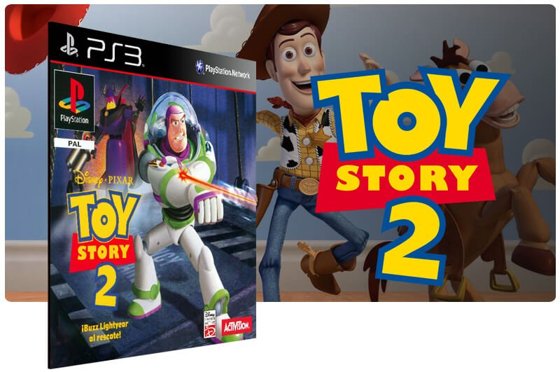 Banner do game Toy Story 2 (Psone Classic) para PS3