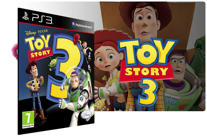 Banner do game Toy Story 3 para PS3