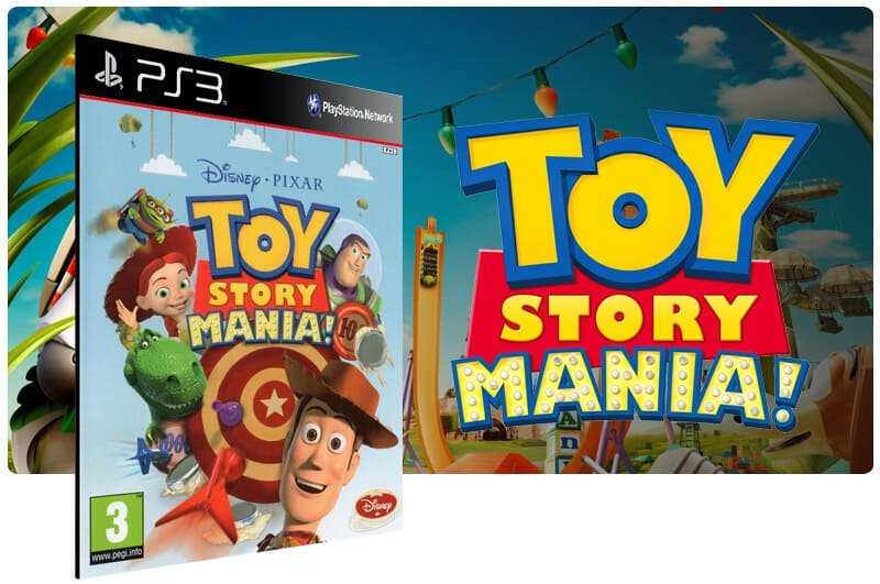 Banner do game Toy Story Mania para PS3