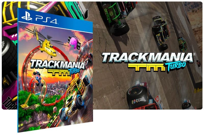 Banner do game Trackmania Turbo para PS4
