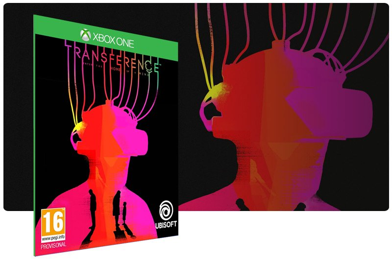 Banner do game Transference em mídia digital para Xbox One