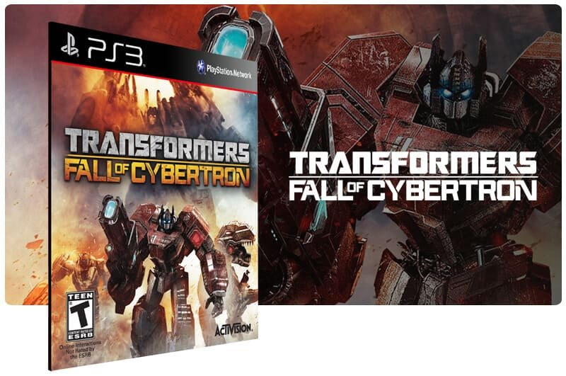 Banner do game Transformers Fall of Cybertron Gold Edition para PS3