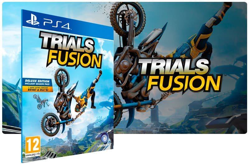 Banner do game Trials Fusion para PS4