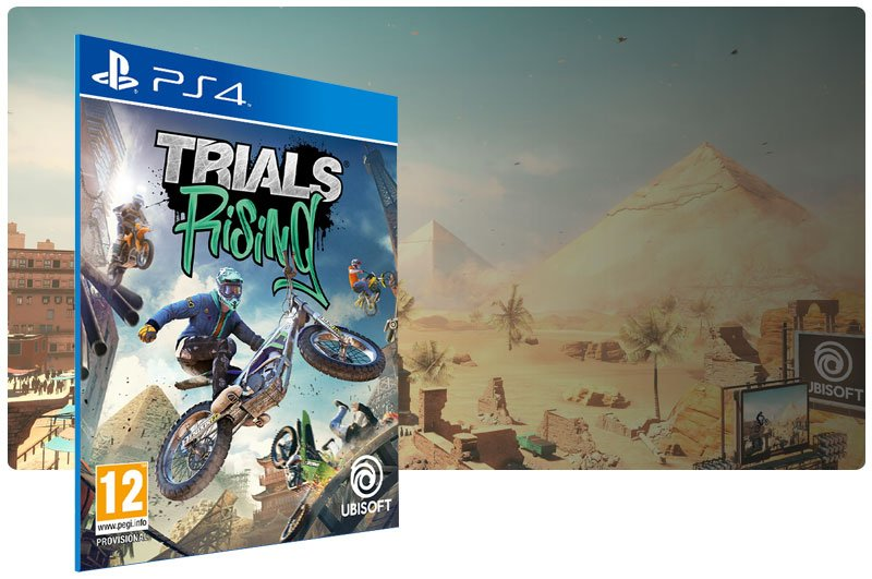 Banner do game Trials Rising para PS4