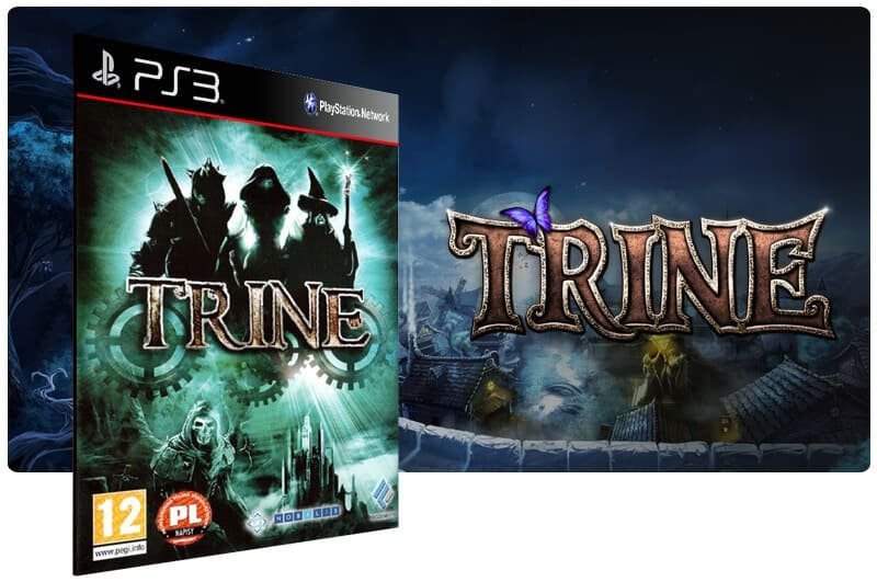 Banner do game Trine para PS3