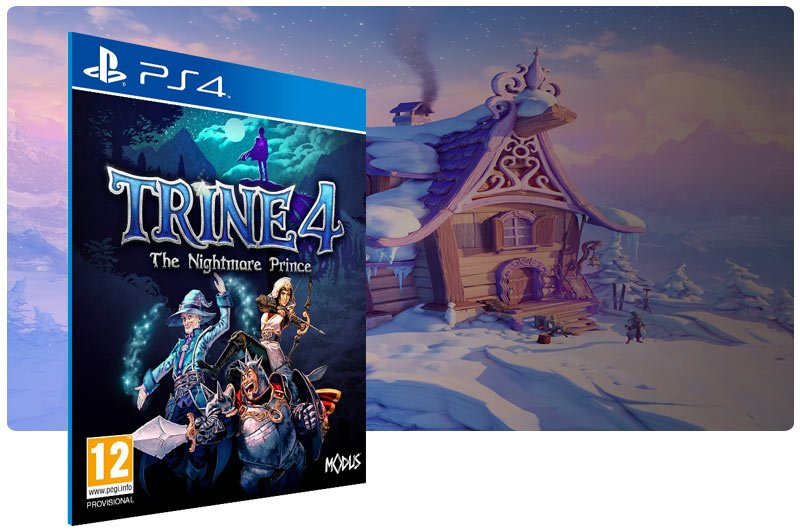 Banner do game Trine 4: The Nightmare Prince para PS4
