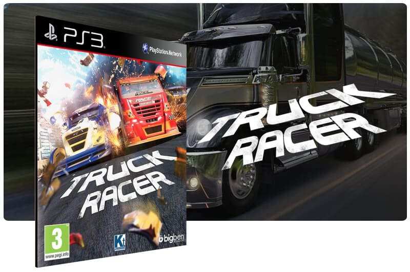 Banner do game Truck Racer para PS3