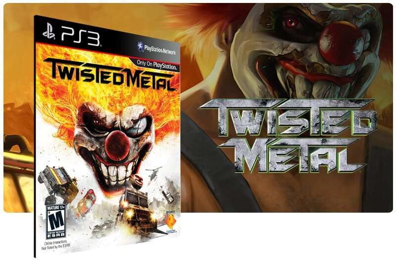 Banner do game Twisted Metal para PS3