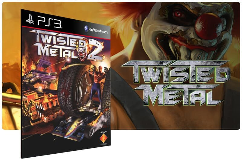 Banner do game Twisted Metal 2 para PS3
