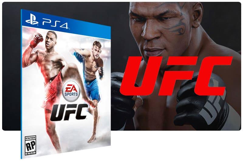 Banner do game UFC para PS4