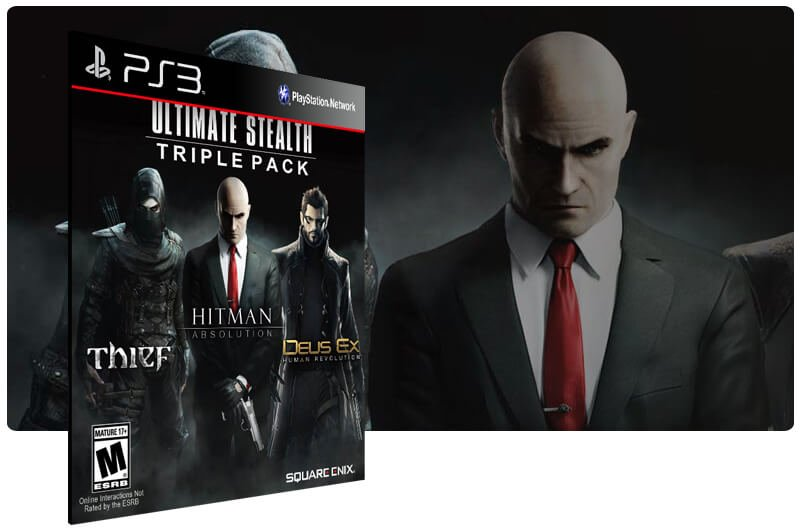 Banner do game Ultimate Stealth Triple Pack para PS3