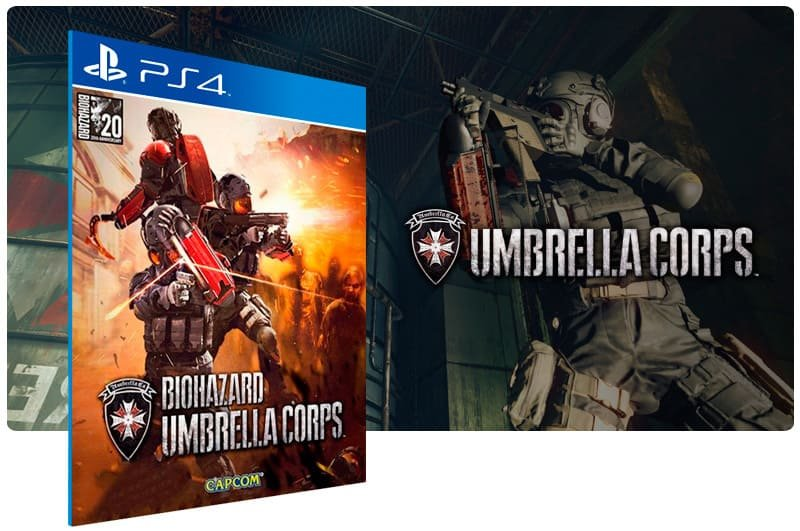 Banner do game Umbrella Corps Deluxe Edition para PS4