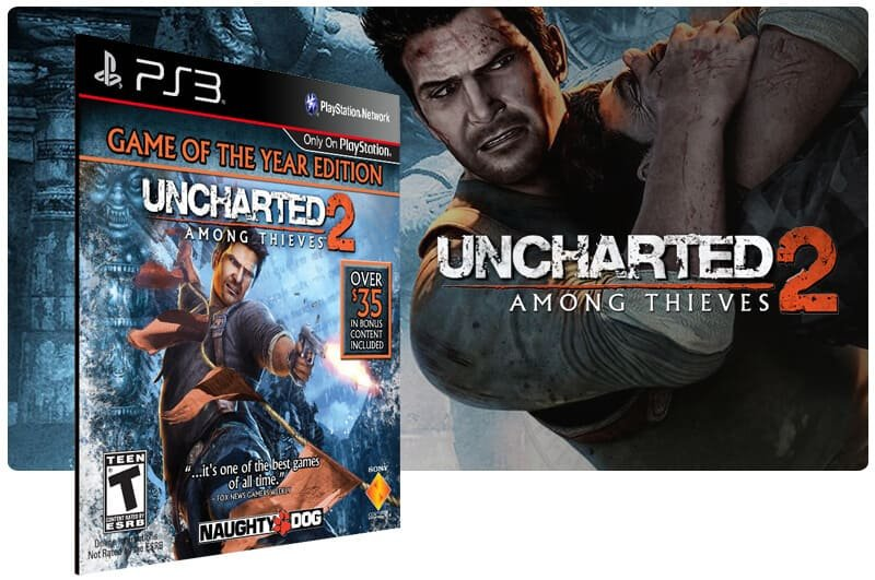Banner do game Uncharted 2: Among Thieve Goty Edition para PS3