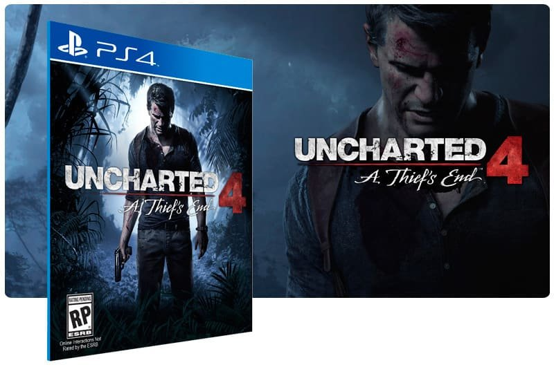 Banner do game Uncharted 4: A Thief'S End para PS4