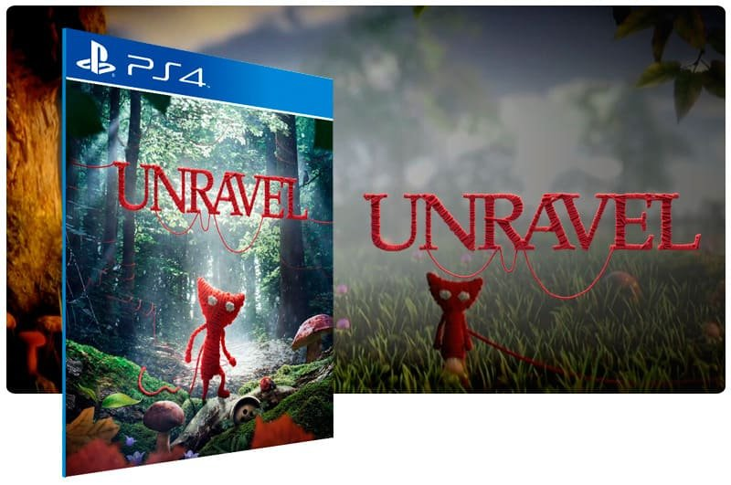 Banner do game Unravel para PS4