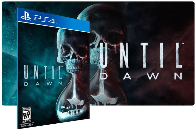 Banner do game Until Dawn para PS4