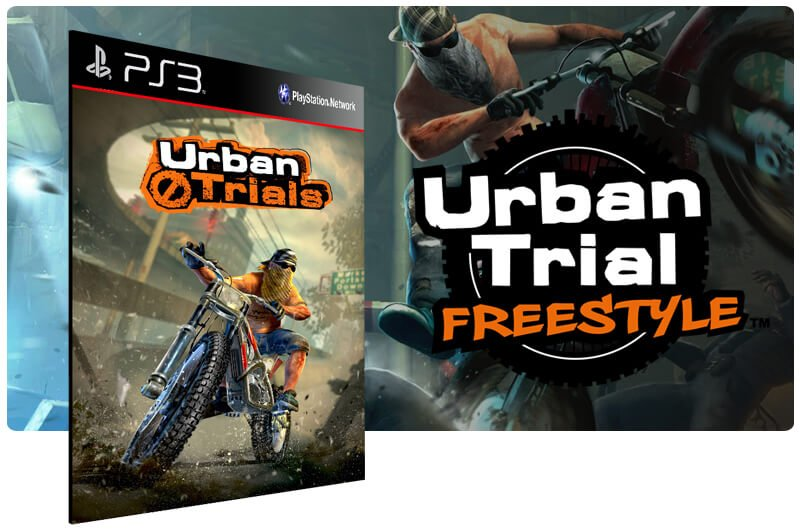 Banner do game Urban Trial Freestyle para PS3
