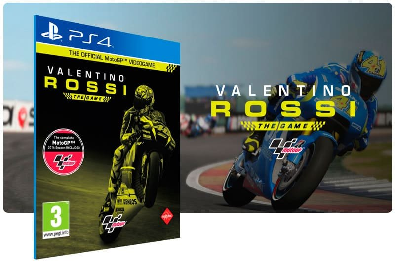 Banner do game Valentino Rossi The Game Day 1 Edition para PS4