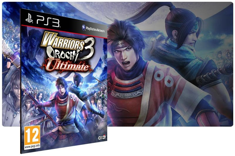 Banner do game Warriors Orochi 3 Ultimate para PS3