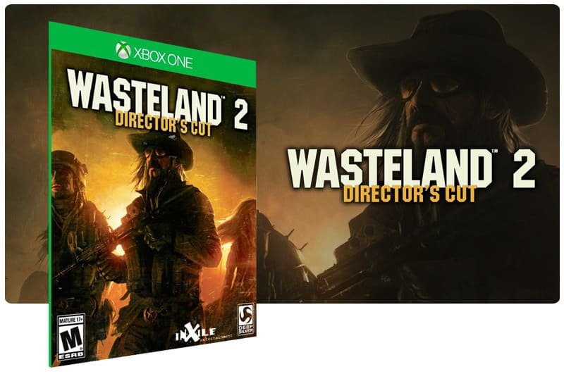 Banner do game Wasteland 2: Directors Cut em mídia digital para Xbox One