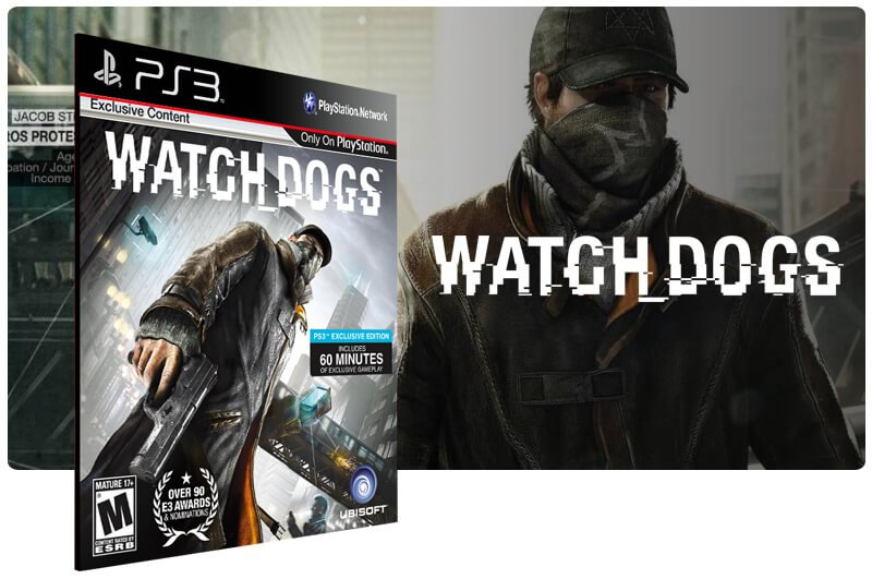 Banner do game Watch Dogs para PS3