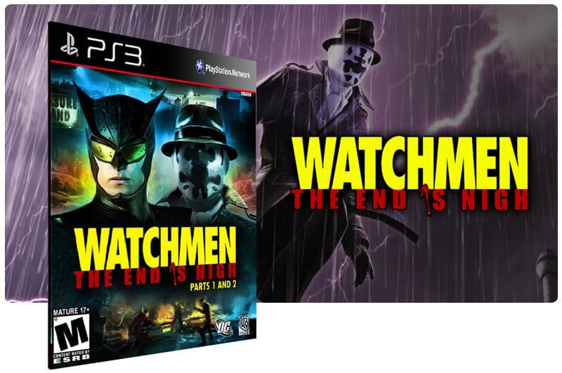 Banner do game Watchmen The End is Nigh para PS3