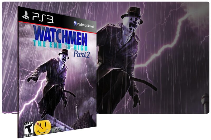 Banner do game Watchmen The End is Nigh Part 2 para PS3