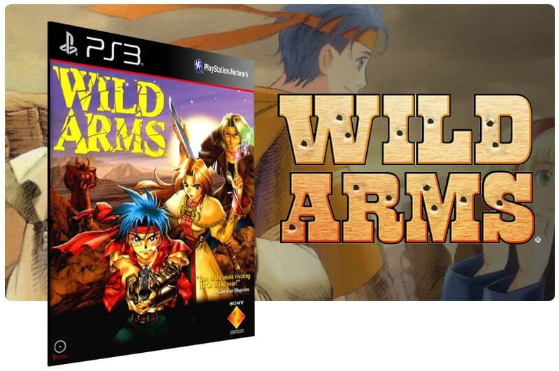 Banner do game Wild Arms (Psone Classic) para PS3