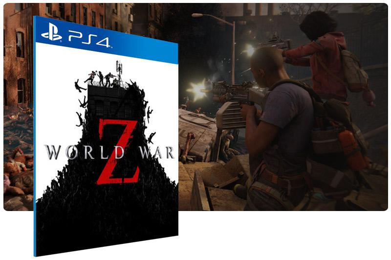 Banner do game World War Z para PS4