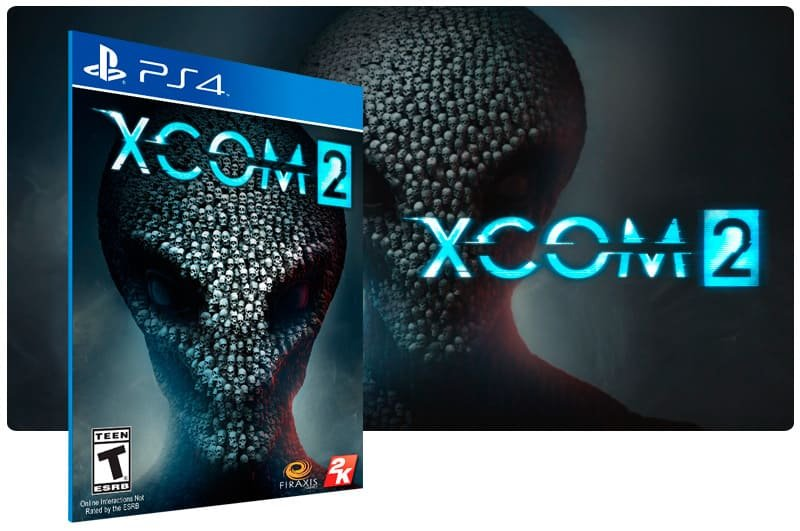 Banner do game Xcom 2 para PS4