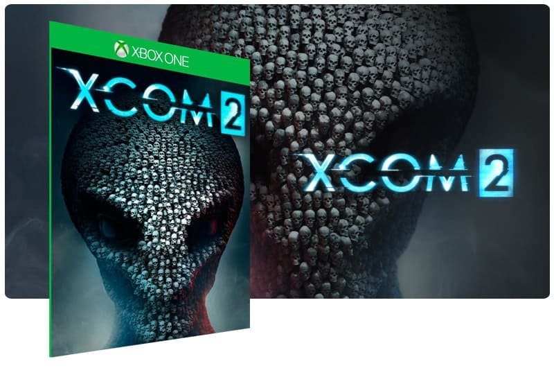 Banner do game XCOM 2 em mídia digital para Xbox One