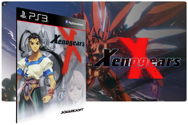 Banner do game Xenogears (Psone Classic) para PS3