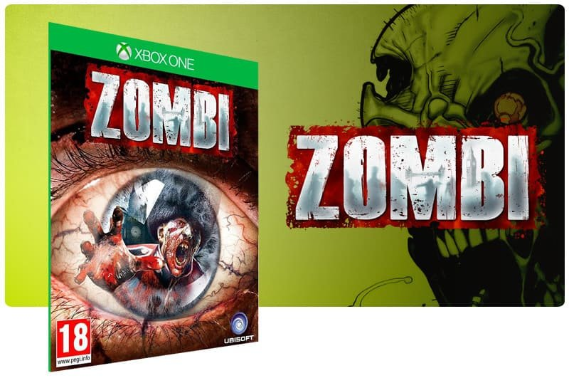 Banner do game Zombi em mídia digital para Xbox One