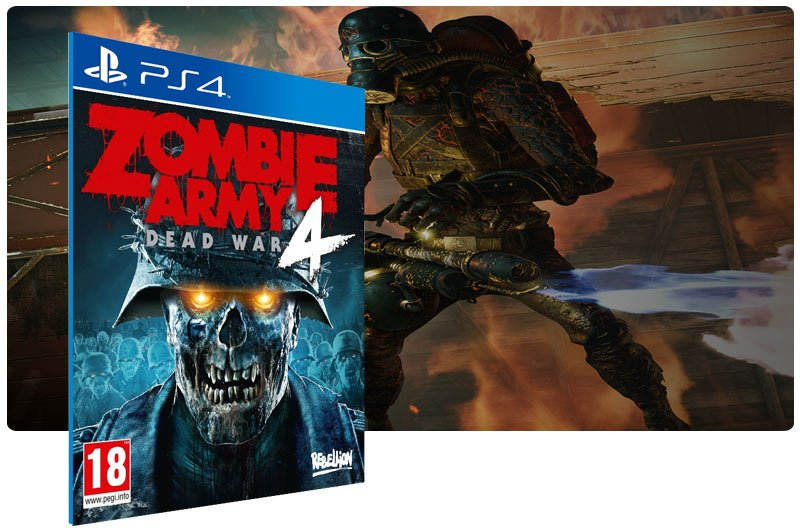 Banner do game Zombie Army 4: Dead War para PS4