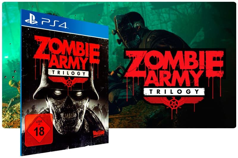 Banner do game Zombie Army Trilogy para PS4